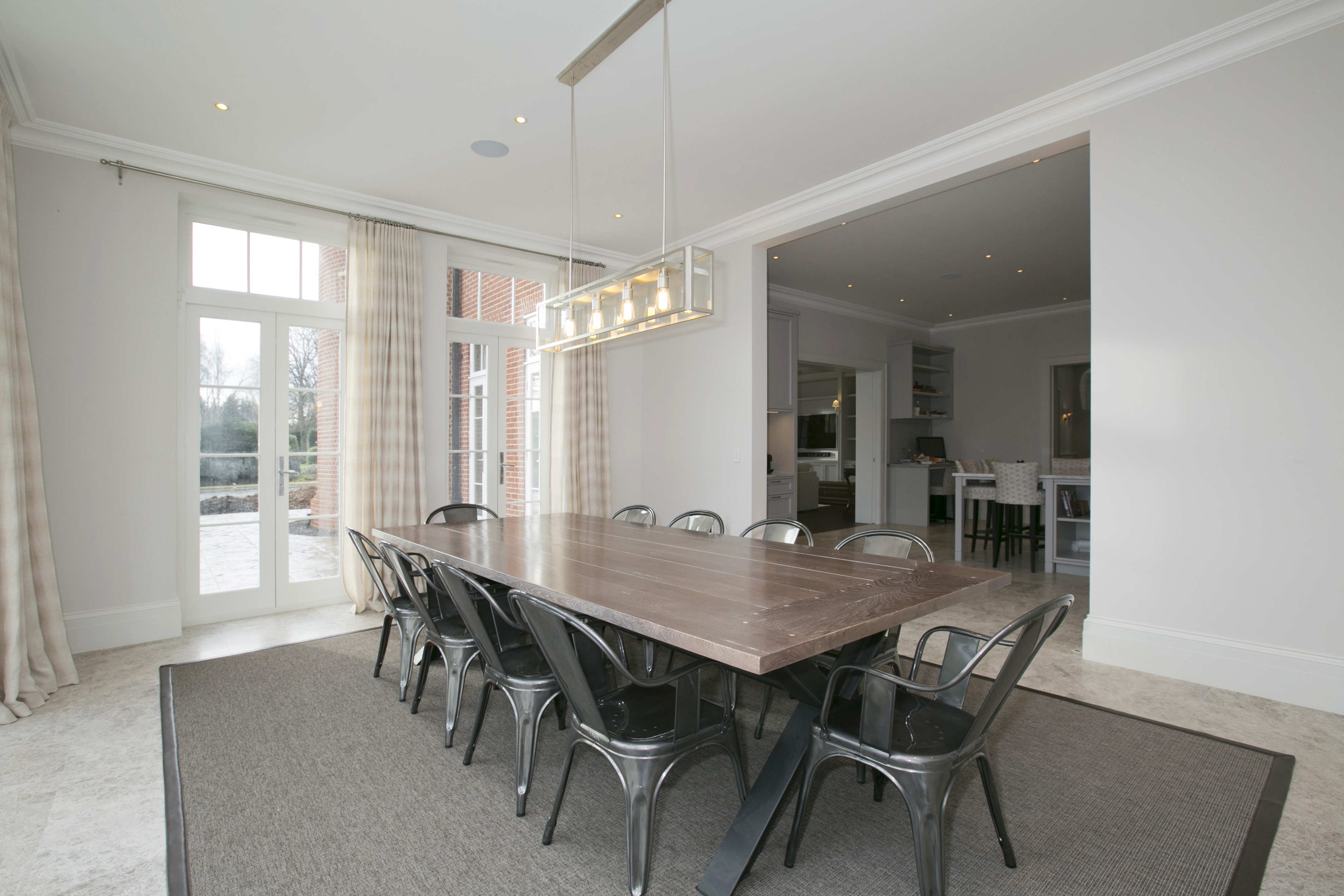 silk carpet and luxury vinyl flooring