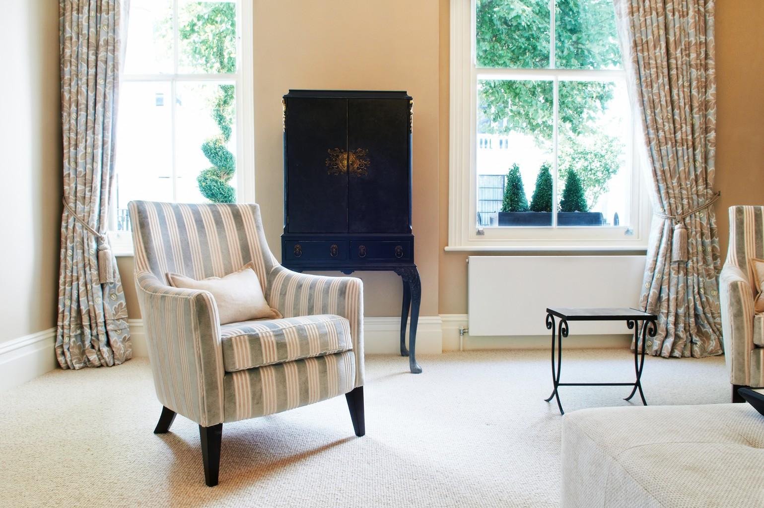 cream luxury carpet and armchair
