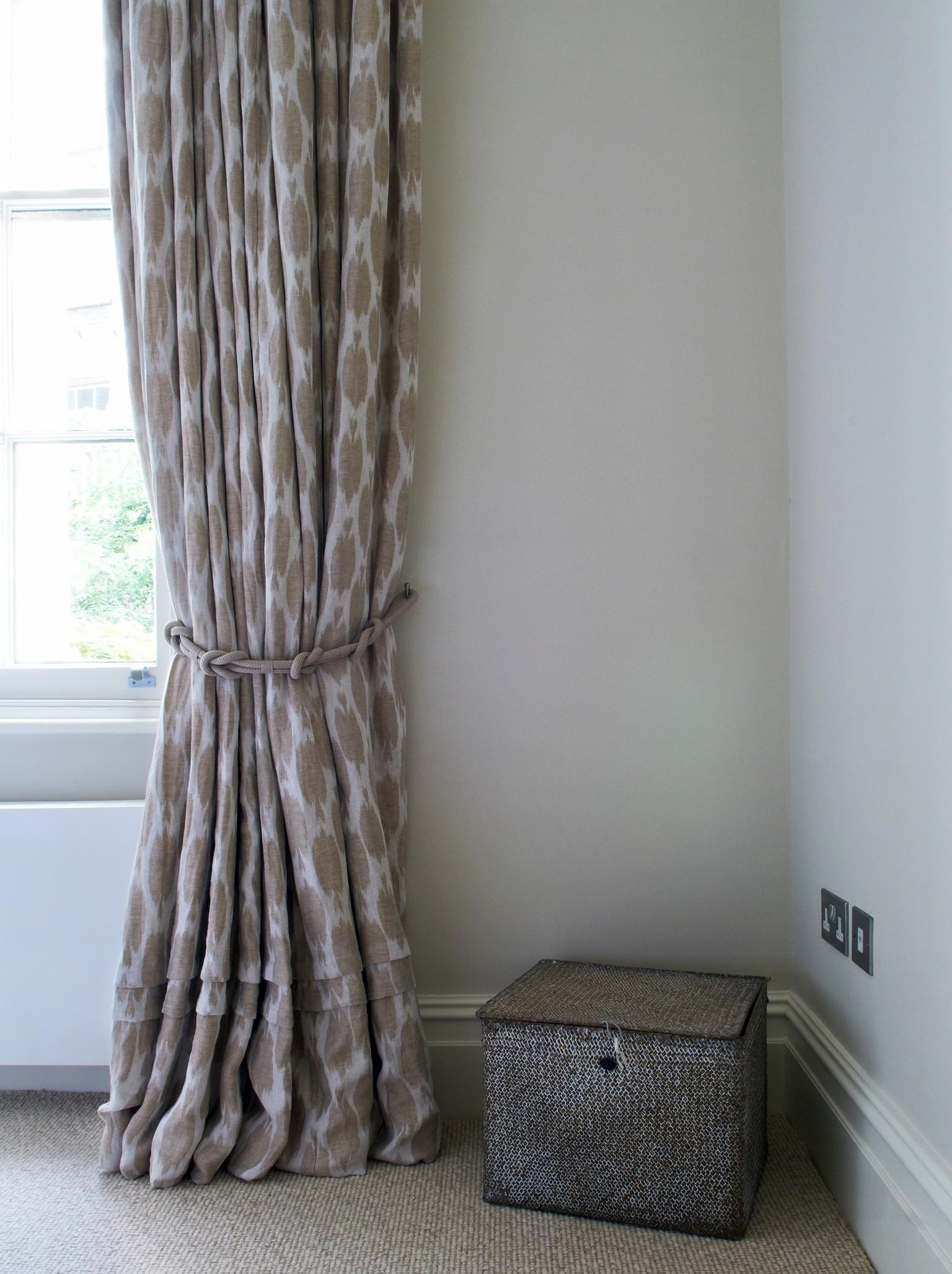 ribbed luxury carpet near window