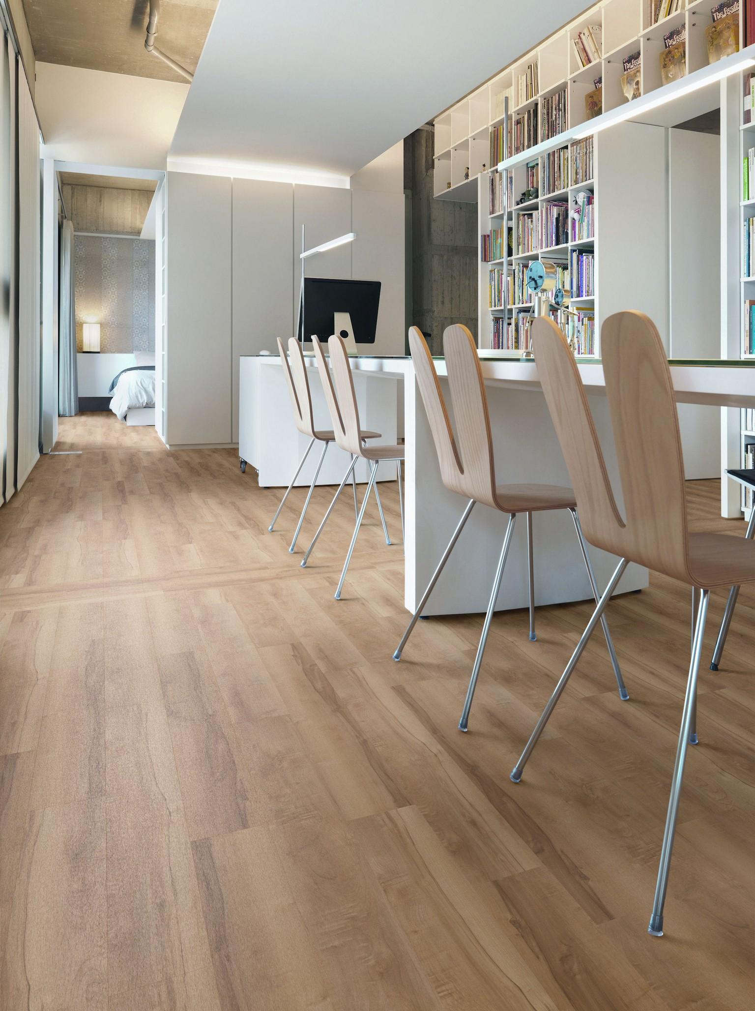 luxury vinyl amtico flooring dining room
