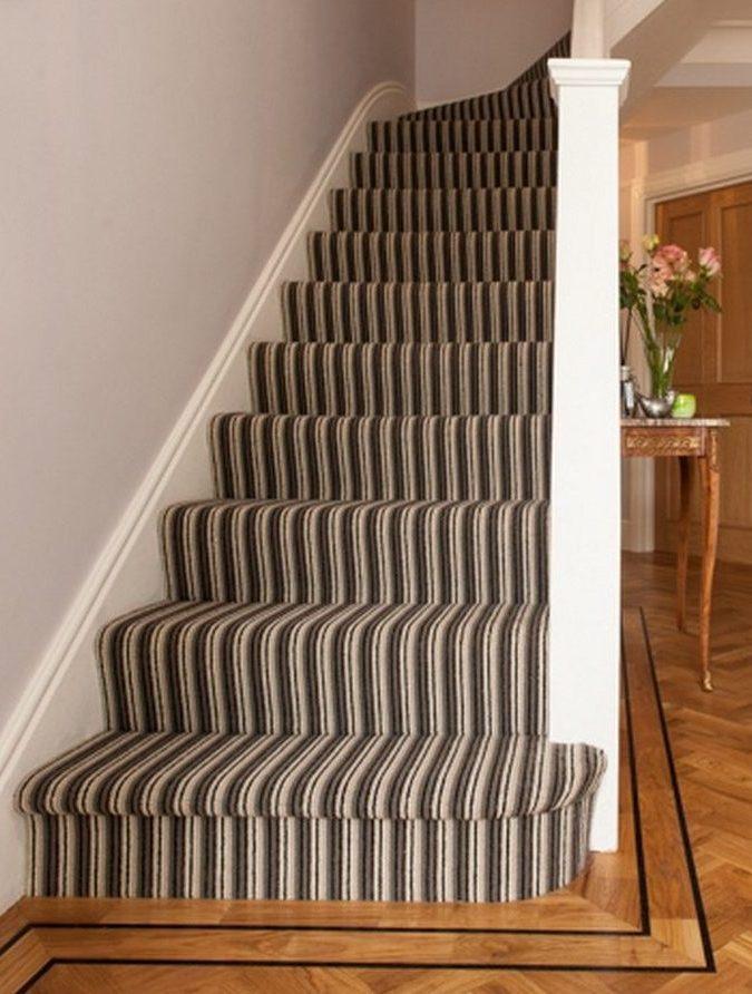 luxury carpet full stair runner