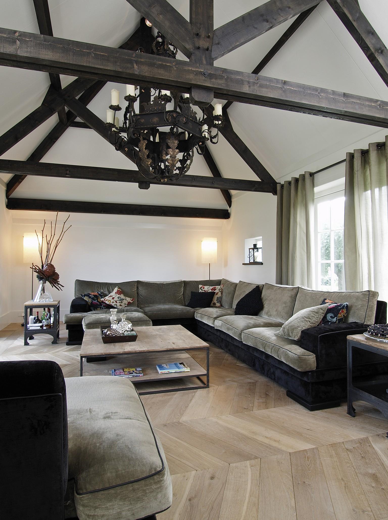 grey washed oak chevron wood flooring