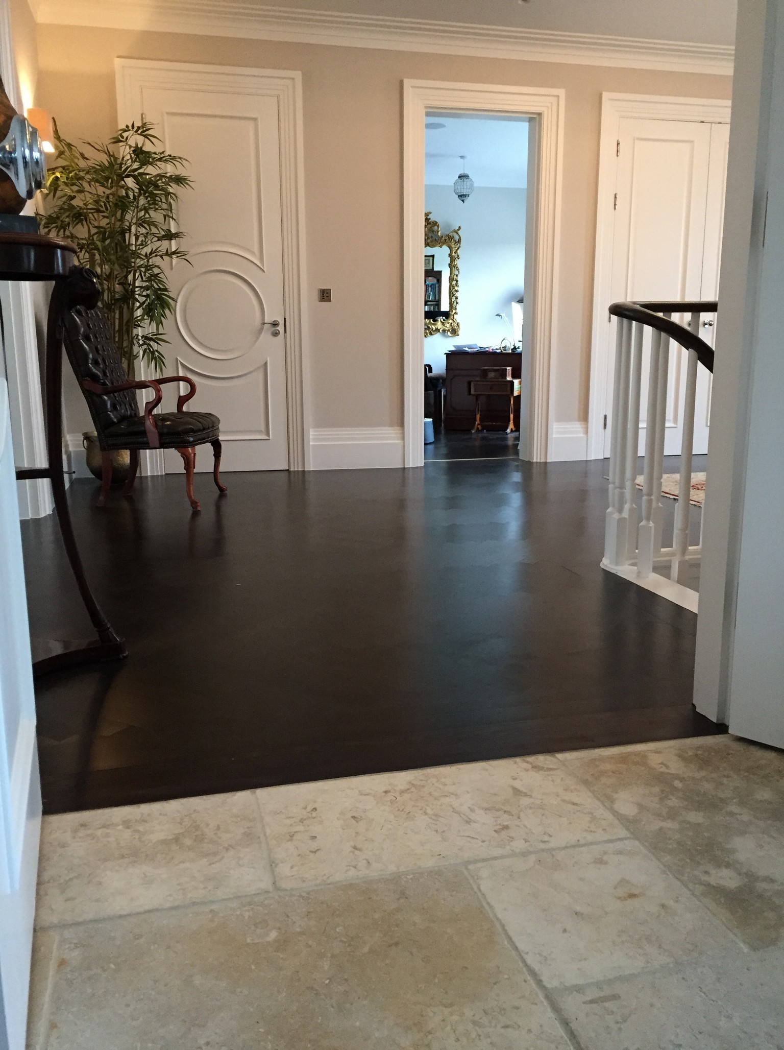 wood flooring and tile