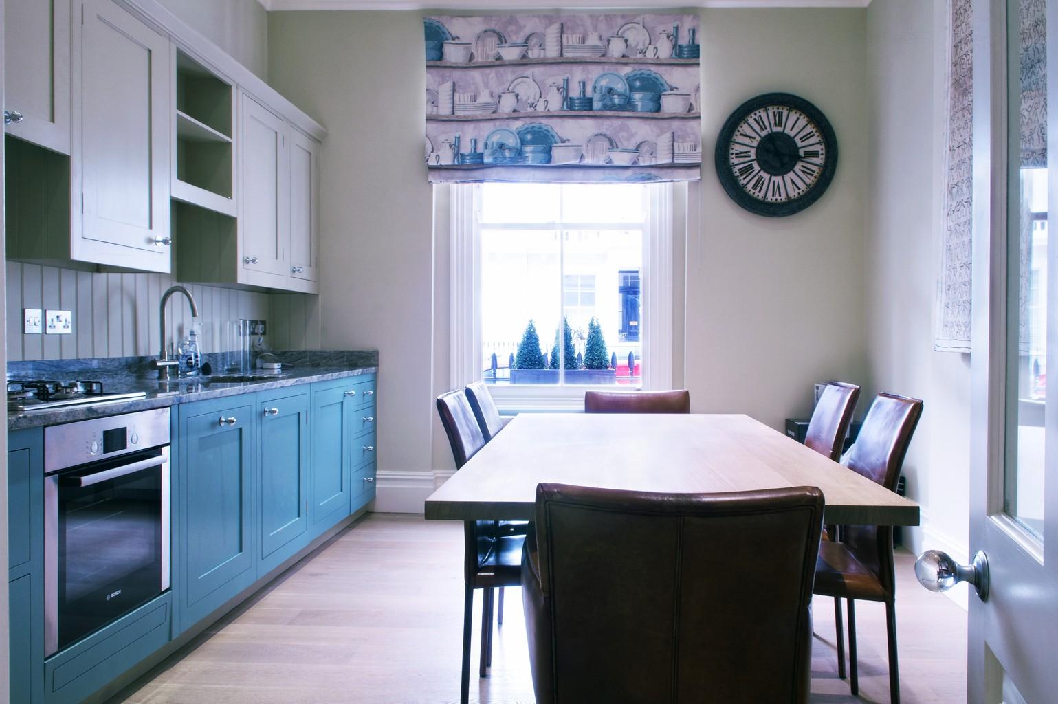 luxury wood flooring in kitchen diner