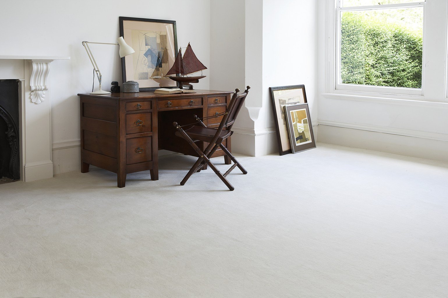 white luxury carpet with antique chair