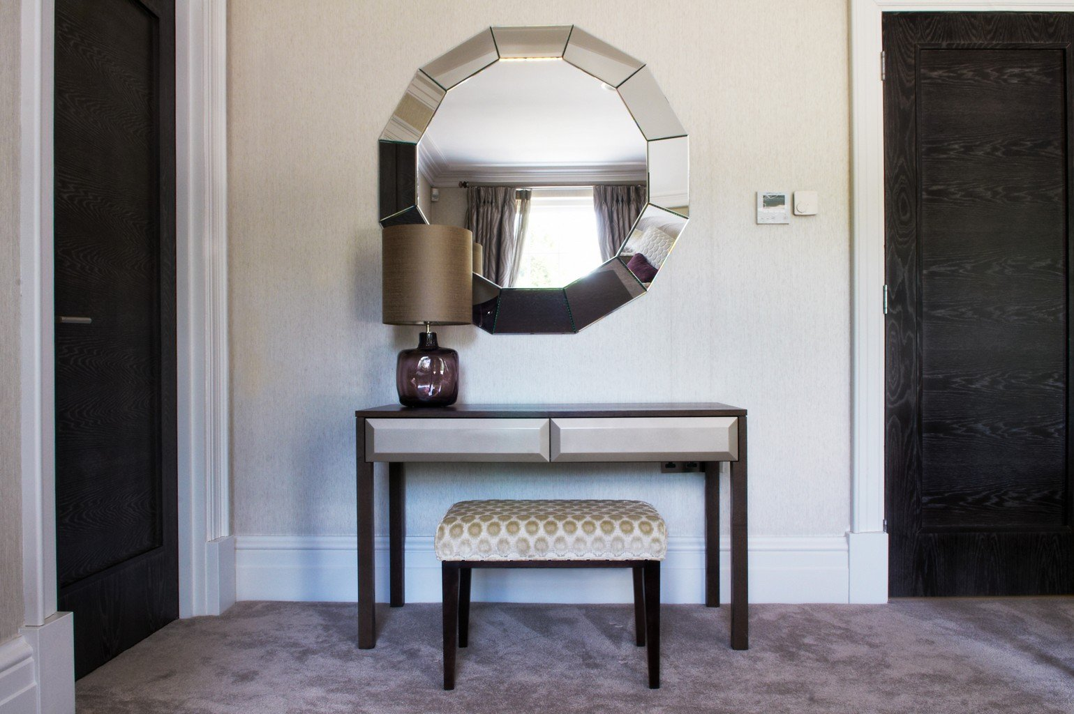 Sylka carpet with mirror