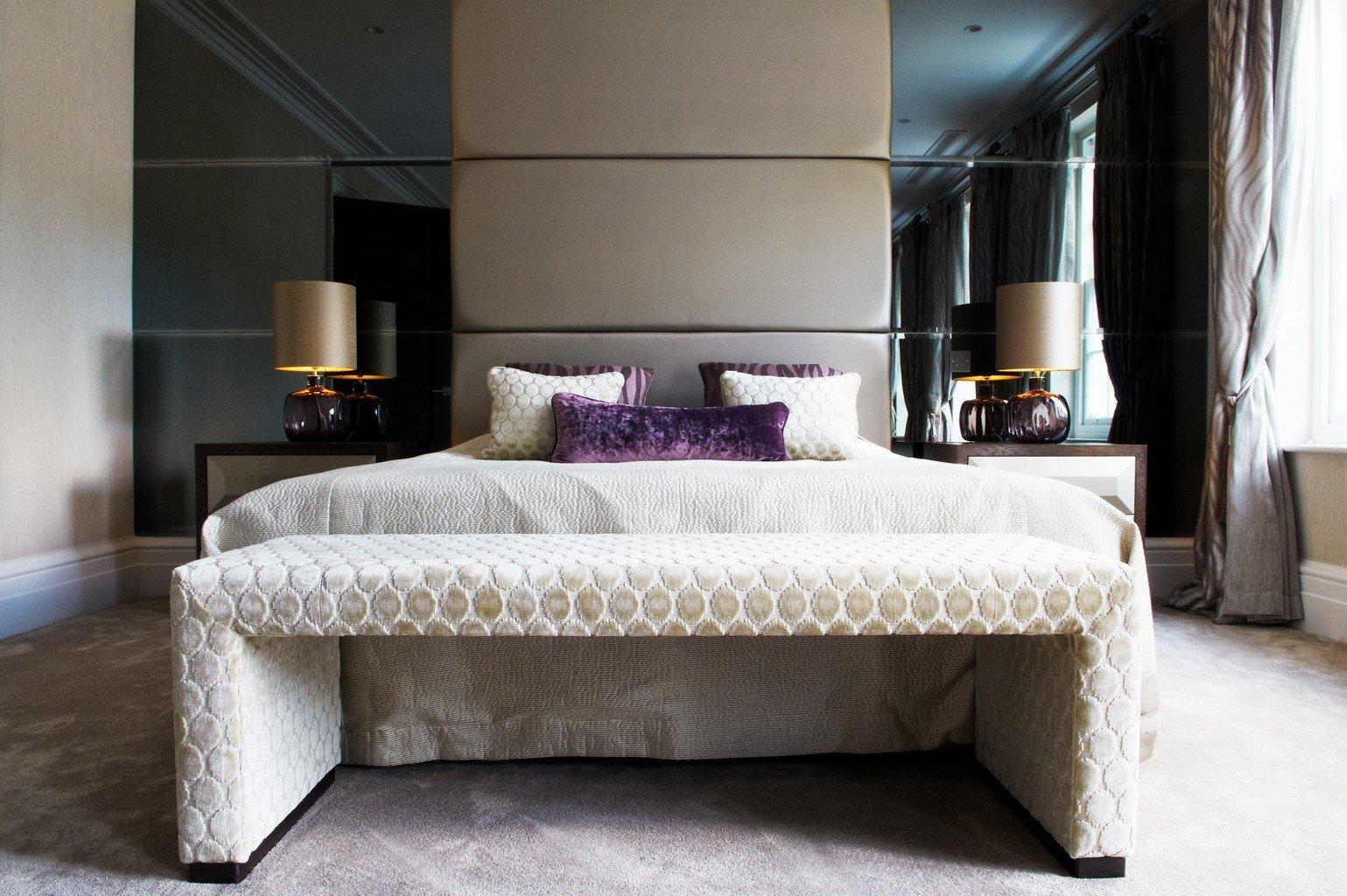 Sylka luxury carpet in contemporary bedroom