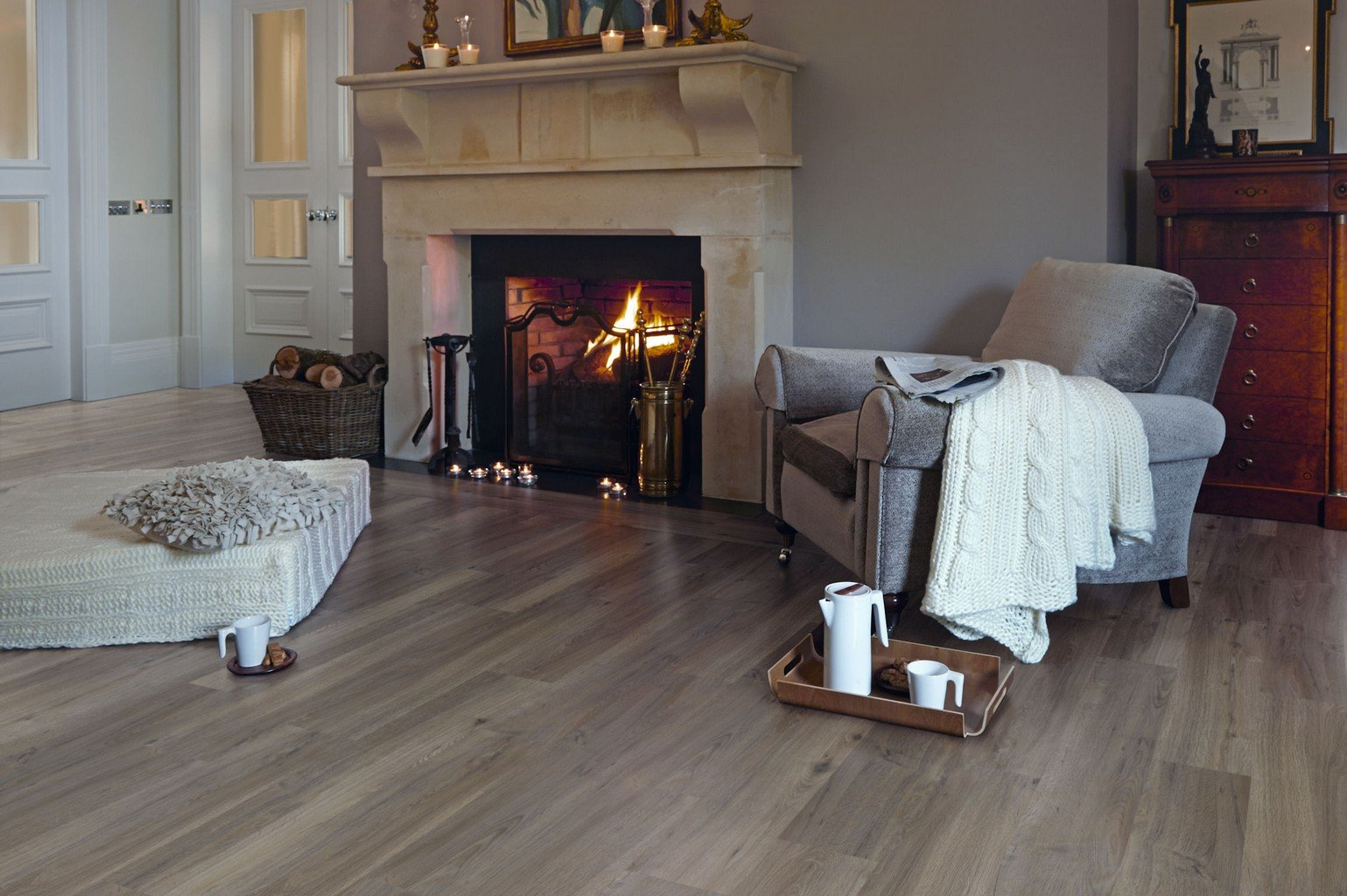 luxury vinyl amtico flooring by fireside