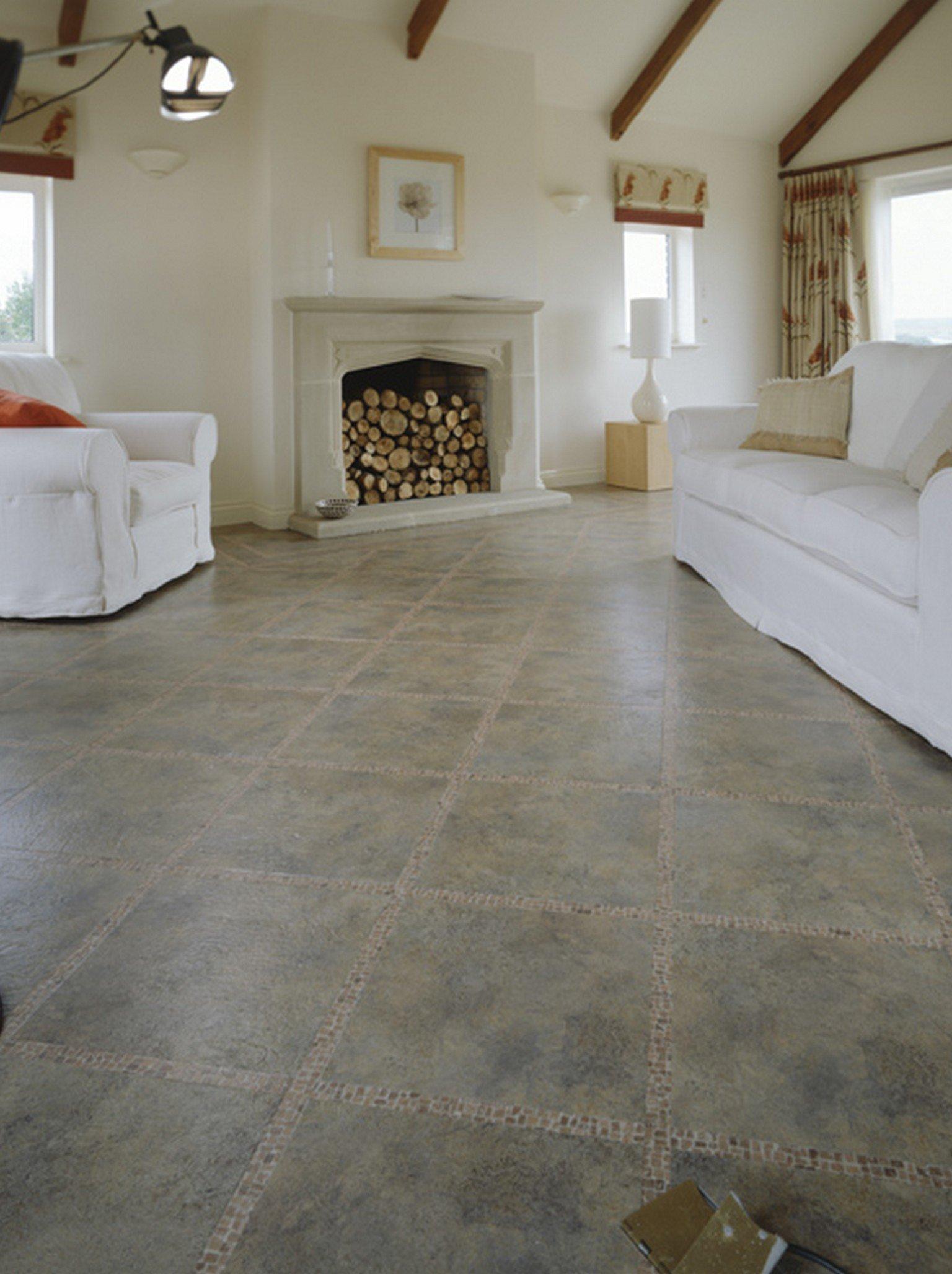 kardean and amtico flooring in tile effect luxury vinyl
