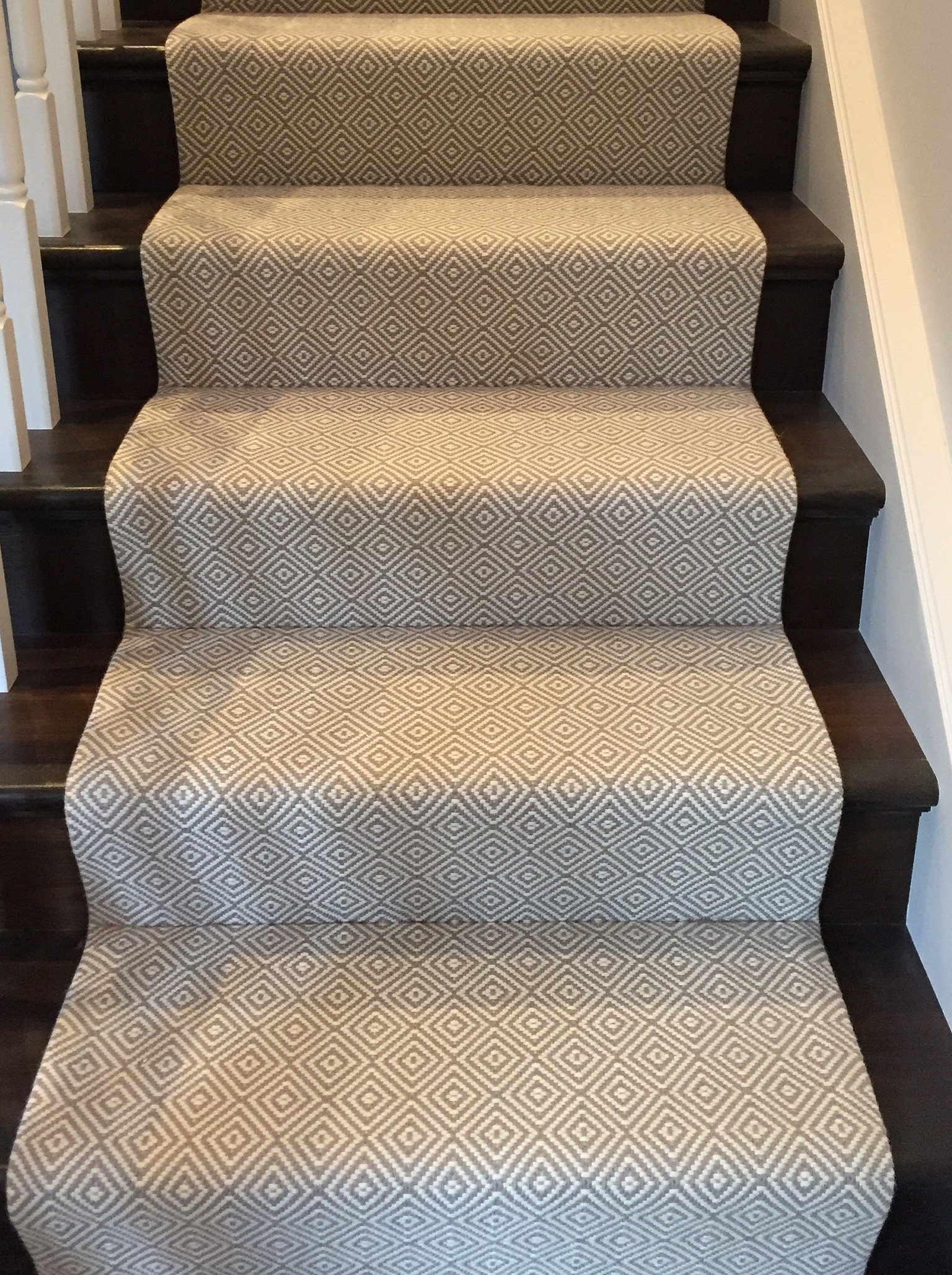 diamond stair runner