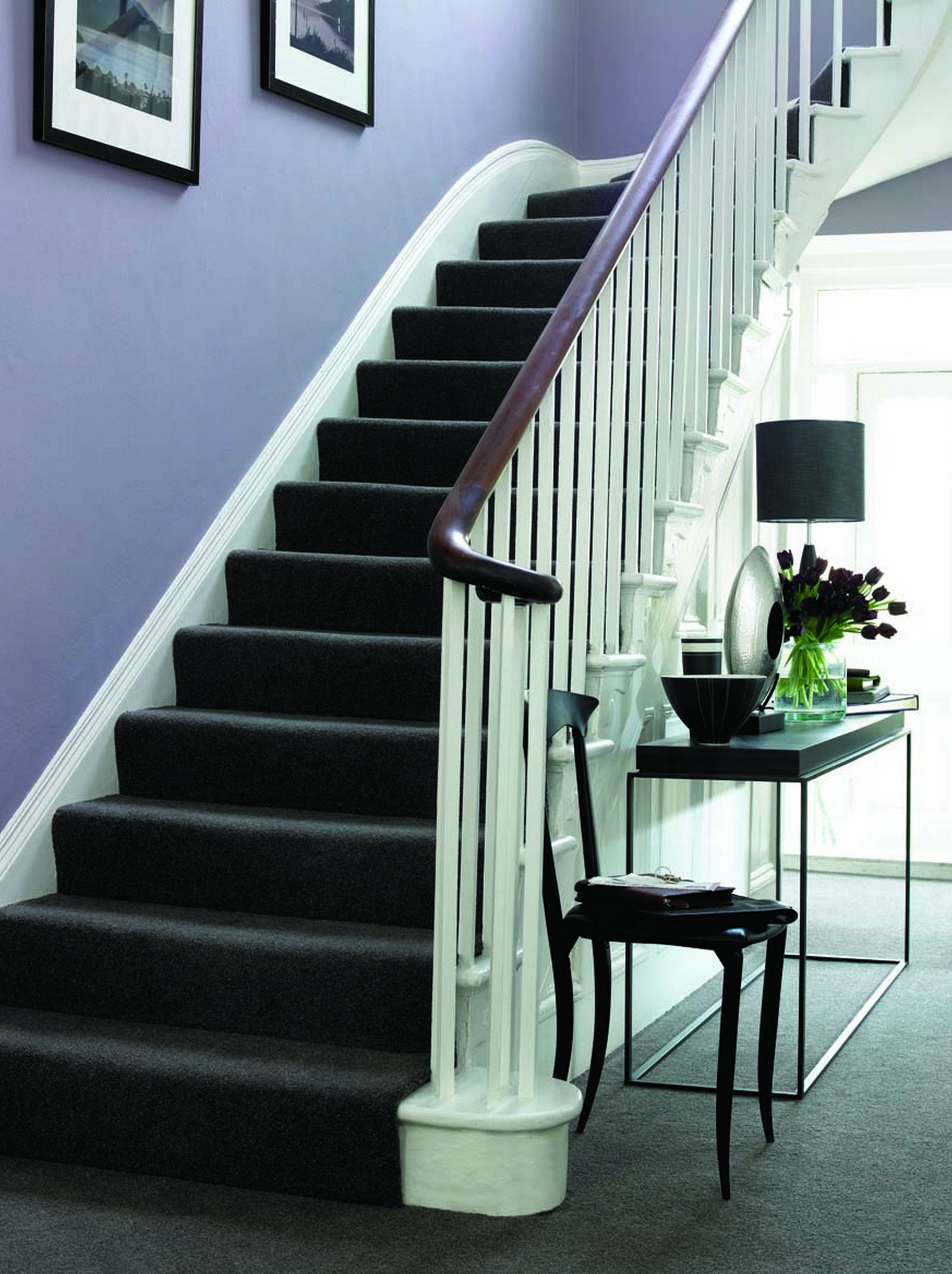 full stair runner luxury carpet